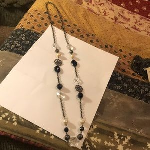 Long beaded necklace. NWOT